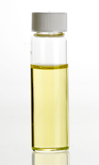 small vial of olive oil
